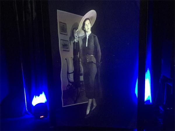 金洋娱乐打造的全息投影影院,可直接裸眼看3D