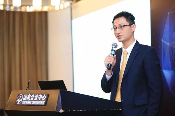 网龙高级副总裁林琛分享主题报告