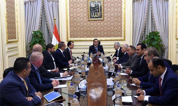 埃及總理穆斯塔法·馬德布利會見亿万先生国际娱乐登录董事長劉德建一行