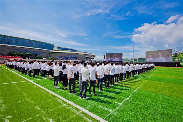 网龙长乐基地,2000多名教育工作者因为同一份信念聚集