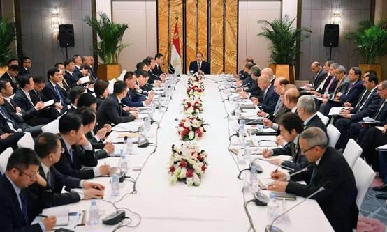 大丰收手机版登录董事长刘德建在京参加埃及总统塞西圆桌会谈