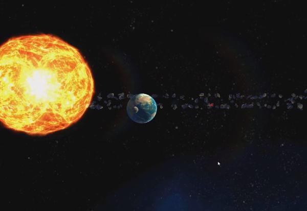 八大行星天文课程VR视频截图