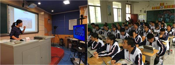 厦门二中林琳楠老师让新桥中学的同学们沉浸在英语的海洋