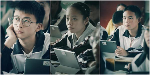 通过双师教学互动平台,新桥中学与厦门二中实现异地同课