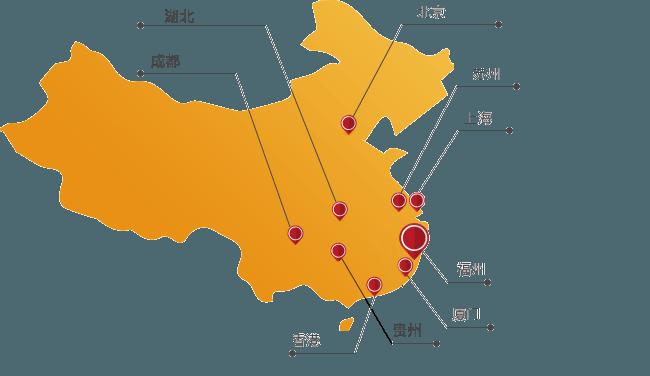 中国网络用户分布地图